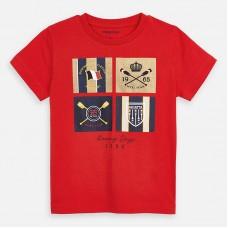 Mayoral-Тениска  къс ръкав с цветна щампа