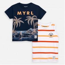 Mayoral-Тениска  къс ръкав с принт палми