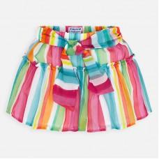Mayoral-Многоцветна пола-панталон с коланче