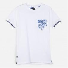 Mayoral-Тениска  къс ръкав с джоб и лого
