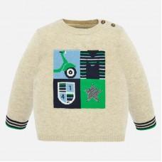Mayoral-Пуловер меланж за момче