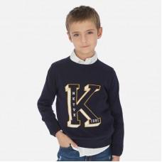 Mayoral-Пуловер за момче с буква