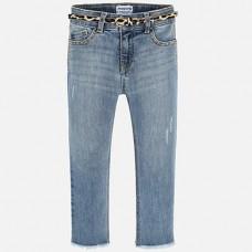 Mayoral- Дълъг дънков панталон  skinny fit-фантазия
