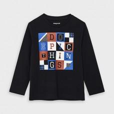 Mayoral-Тениска с дълъг ръкав  на букви