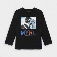Mayoral-Тениска  на пайети и дълъг ръкав