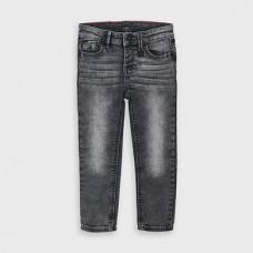 Mayoral-Дънков панталон-slim fit-сив
