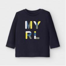 Mayoral-Основна тениска с дълъг ръкав-MYRL