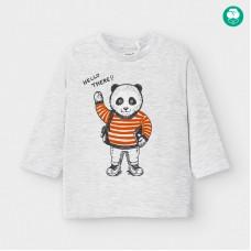 Mayoral-Тениска с дълъг ръкав на рисунка панда