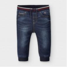 Mayoral-Дълъг панталон jogger-дънков ефект