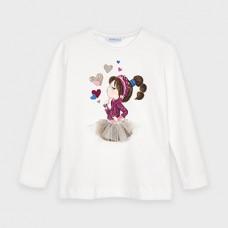 Mayoral-Тениска с дълъг ръкав на рисунка