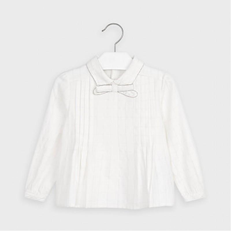 Mayoral-Блуза-панделка на яката