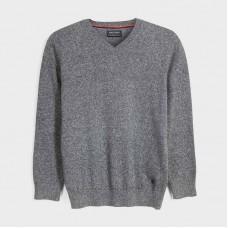 Mayoral-Памучен основен пуловер-V-образно деколте