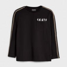 Mayoral-Тениска-дълъг ръкав и джобче за момче-skate