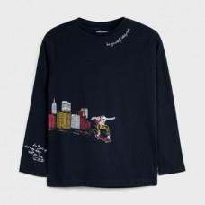 Mayoral-Тениска с дълъг ръкав и рисунка на  град