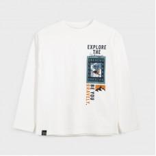 Mayoral-Тениска-explore с дълъг ръкав