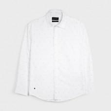 Mayoral-Риза-жакард с дълъг ръкав
