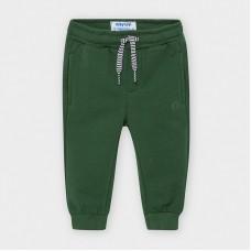 Mayoral-Дълъг основен панталон от плюш с маншети-Испанска ела
