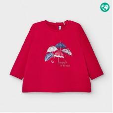 Mayoral-Тениска с дълъг ръкав и рисунка на чадъри