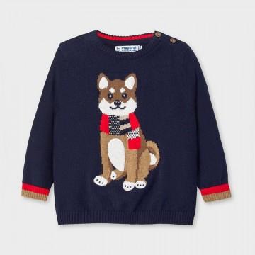Mayoral-Пуловер с рисунка отпред-бебе