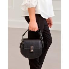 Mayoral-Малка черна чанта с панделка - Abel & Lula