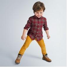 Mayoral-Дълъг панталон от рипсено кадифе slim fit