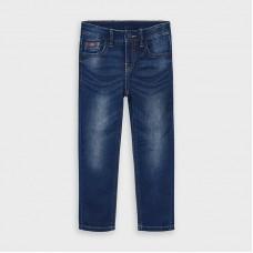 Mayoral-Дълъг дънков мек панталон-slim fit