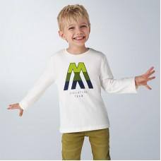 Mayoral-Тениска с дълъг ръкав и щампа лого
