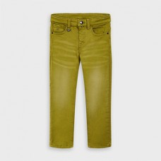 Mayoral-Дълъг панталон slim fit-Wakame