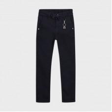 Mayoral-Мек памучен панталон loose fit