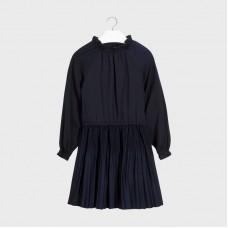 Mayoral-Плисирана рокля от сатен-момиче