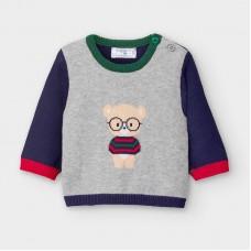 Mayoral-Бебешки пуловер жакард