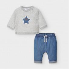 Mayoral-Бебешки комплект с панталонки