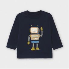 Mayoral-Тениска-play with robot с дълъг ръкав