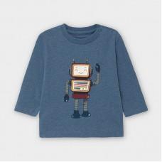 Mayoral-Тениска-play with robot-дълъг ръкав