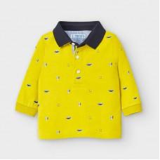 Mayoral-Поло тениска с дълъг ръкав и щампи-Aove
