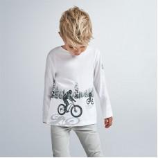 Mayoral-Тениска с дълъг ръкав и отразяваща украса-момче