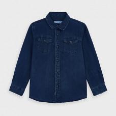 Mayoral-Дънкова риза с дълъг ръкав-момче