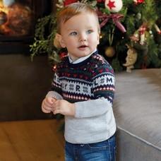Mayoral-Пуловер жакард  за бебе