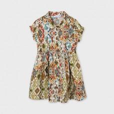 Mayoral-Лятна рокля щампи тип риза