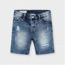 Mayoral - Къси панталони деним накъсани
