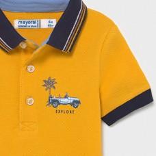 Mayoral-Поло тениска къс ръкав ситопечат