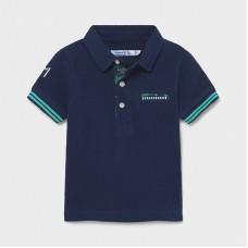 Mayoral-Поло тениска къс ръкав апликации