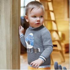 Mayoral-Пуловер панда за бебе момче