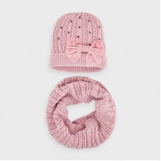 Mayoral- Комплект шапка с шал за момиче