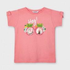 Mayoral- Тениска къс ръкав графика за момиче