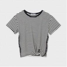 Mayoral-Тениска с къс ръкав с възел