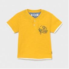 Mayoral-Тениска къс ръкав деколте копчета