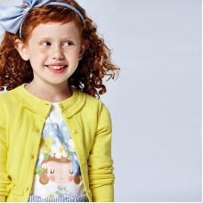 Mayoral- Тениска къс ръкав  за момиче  с кукла