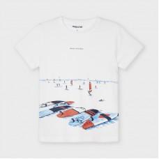 Mayoral-Тениска за момче  за момче от устойчив памук
