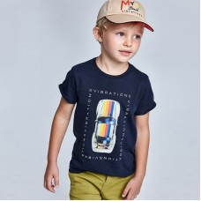 Mayoral-Тениска за момче  за момче от устойчив памук с кола